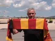 José Mourinho arrives in Rome