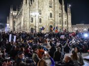 Italy Green Pass protests in Milan and Trieste