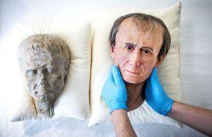 Julius Caesar's real face
