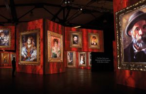 French Impressionists interactive show in Rome