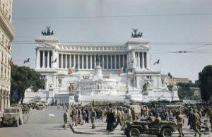 4 June 1944. Rome's liberation.