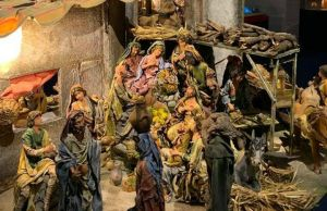 100 Christmas Cribs in Rome