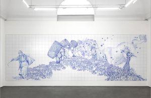 Pietro Ruffo at Galleria Lorcan O'Neill in Rome