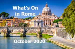 What to do in Rome in October 2020