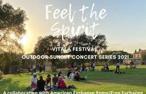 Vitala Festival Rome: Outdoor Sunset Benefit Concert & Picnic