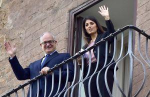 Rome's new mayor Gualtieri takes office as Raggi era ends