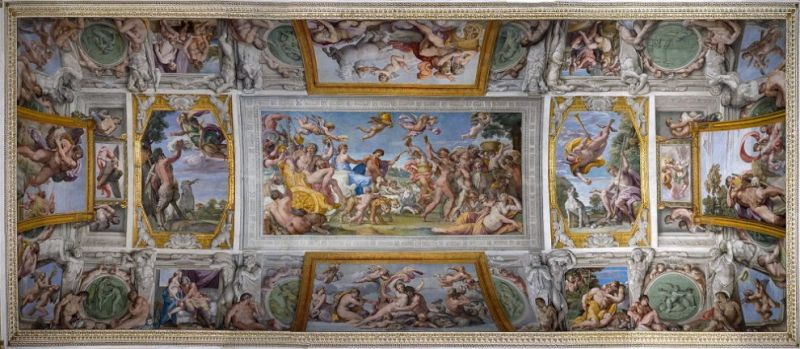 carracci gallery restored at palazzo farnese in rome wanted in rome. Black Bedroom Furniture Sets. Home Design Ideas
