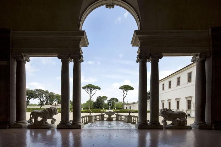 French academy in rome villa medici celebrates 350 years - Villa medicis rome chambres ...
