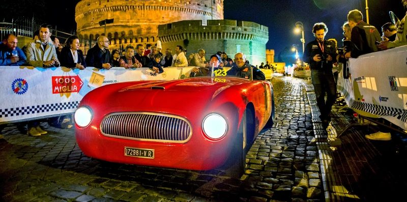 Vintage cars come to Rome - Wanted in Rome