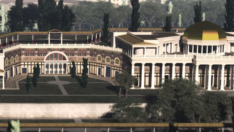 Domus Aurea: A mad emperor's dream in 3D - Wanted in Rome
