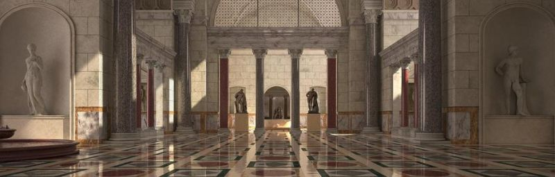 3D visits of Rome\'s Baths of Caracalla - Wanted in Rome