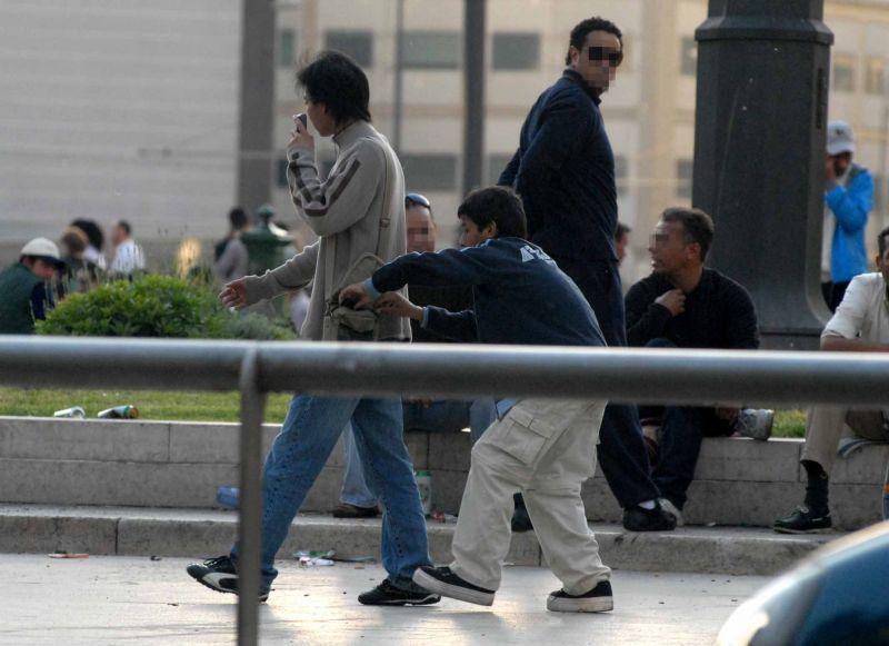 Resultado de imagem para pickpocket in rome