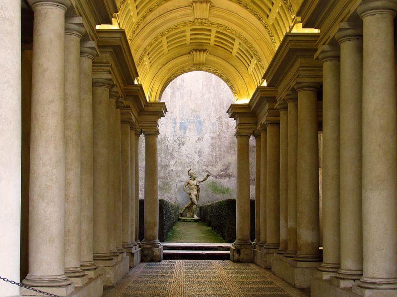 Borromini At Palazzo Spada In Rome Wanted In Rome