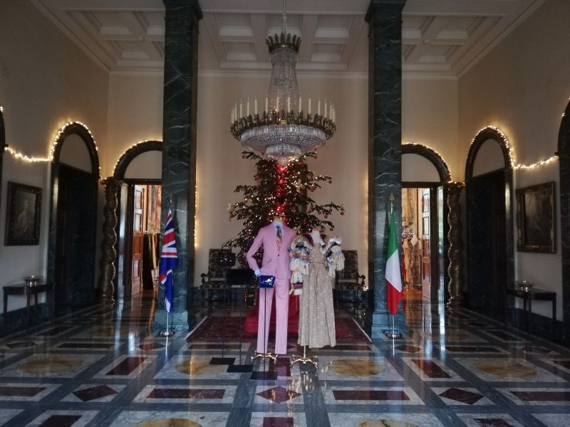 Vivienne Westwood at British Embassy in Rome - Wanted in Rome 93ed868dbdb