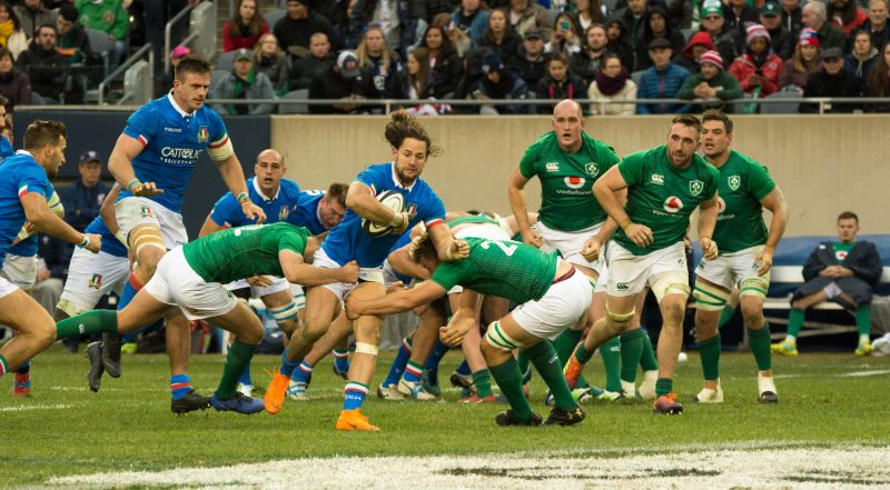 42a445d0eb9 Six Nations rugby in Rome - Wanted in Rome