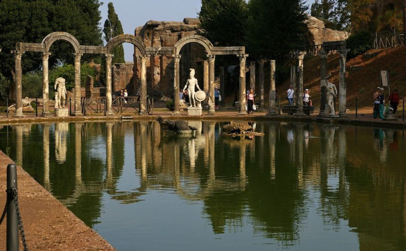 Enhanced Protection For Villa Adriana In Tivoli Wanted In Rome