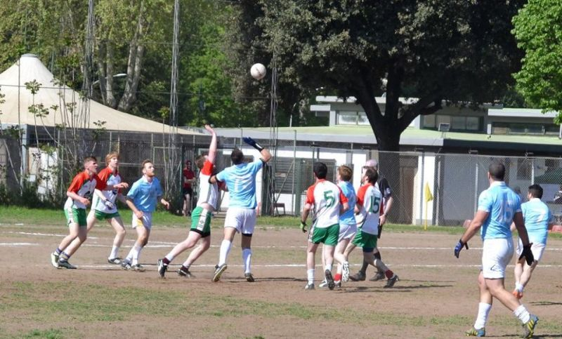 Gaelic football in Rome - Wanted in Rome