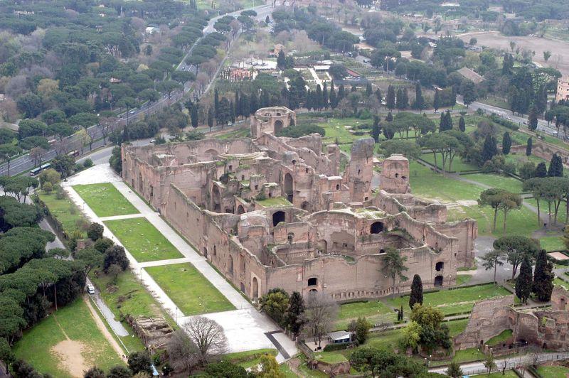 rome mayor seeks to stop mcdonalds beside baths of caracalla.