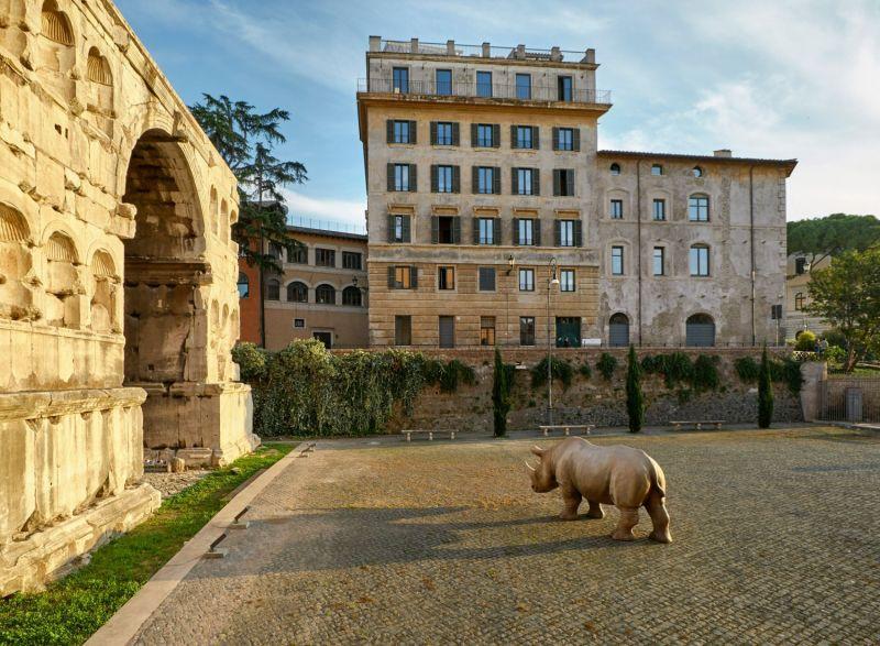 Palazzo Rhinoceros Fondazione Alda Fendi Esperimenti In Rome