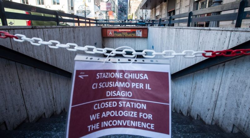 Rome Metro Station Closed For 200 Days Wanted In Rome