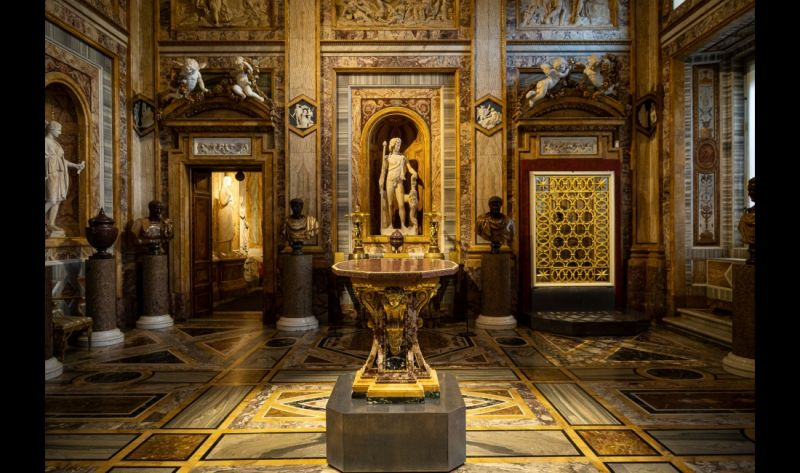 Valadier Exhibition At Galleria Borghese In Rome Wanted In