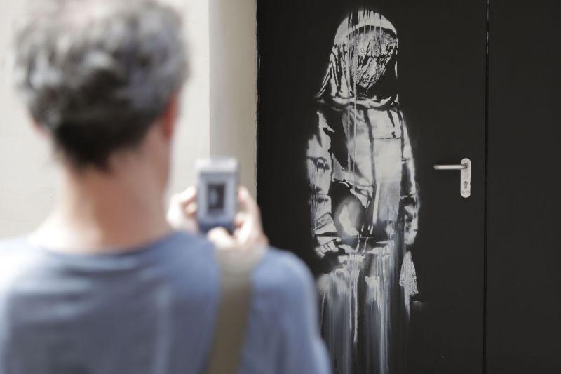 Stolen Banksy work found in Italy