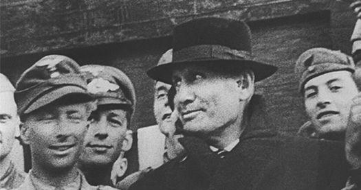Freed Mussolini.