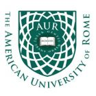 The American University of Rome is looking for a part-time Receptionist.