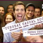 Tues 28 Nov - ROME EXPATS TUESDAY CASUAL SOCIAL