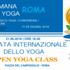 International YOGA DAY- 21/06/2018: Programme of celebrations  (17-29 June)