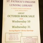 October Used Book Sale