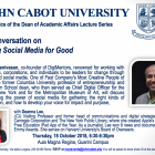 Using Social Media for Good - featuring Sree Sreenivasan