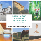 Assisi New Year Yoga retreat