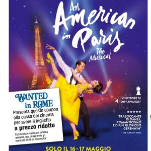 Special Discount with WIR Card for An American in Paris musical