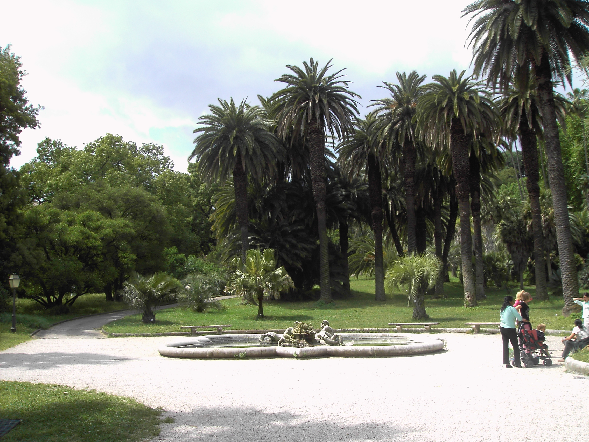 guide to gardens around rome wanted in rome