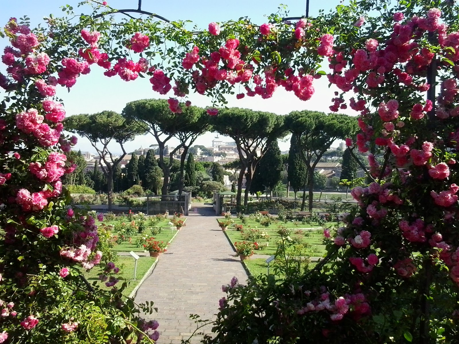Guide to gardens around rome wanted in rome - Il giardino delle rose roma ...