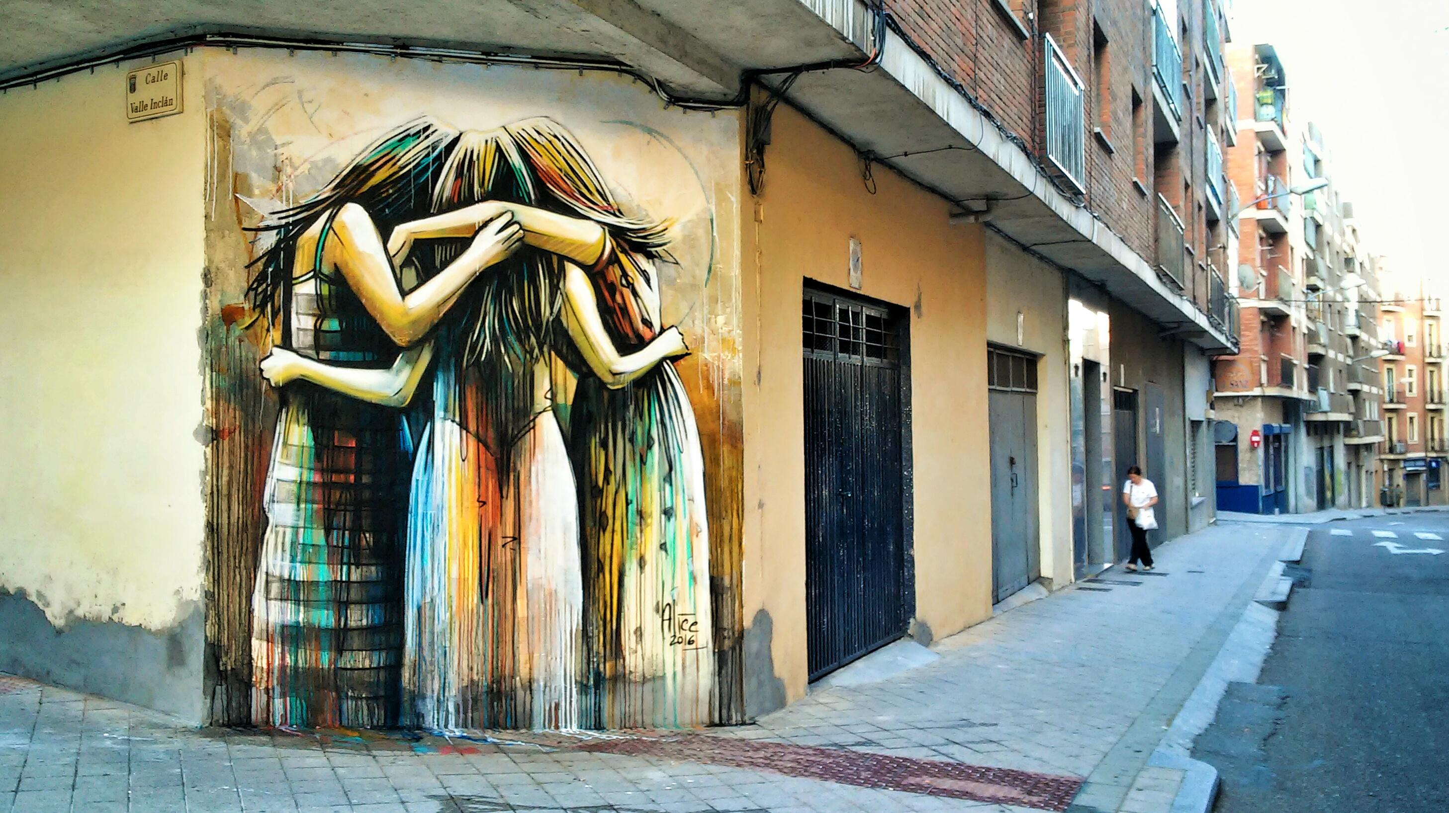 Alice pasquini roman street artist wanted in rome