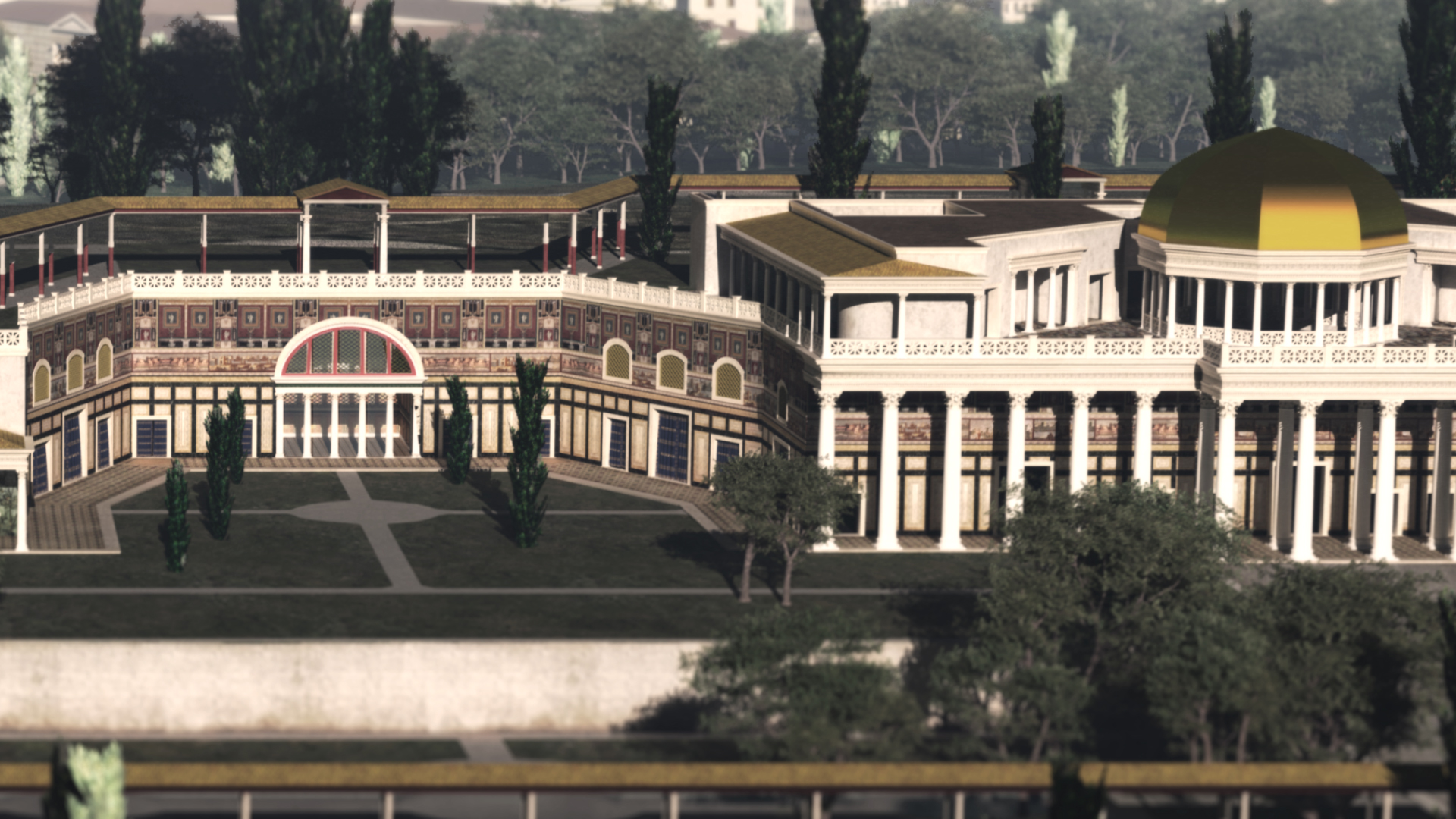 A Mad Emperor S Dream In 3d Wanted In Rome